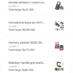 Paket Perlengkapan Camera